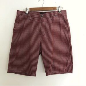 Hurley | striped flat front shorts